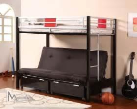 bunk bed futon futon bunk beds with mattress 15 excellent