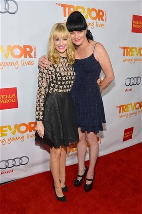 pauley perrette glasses pauley perrette images the trevor project s trevor live
