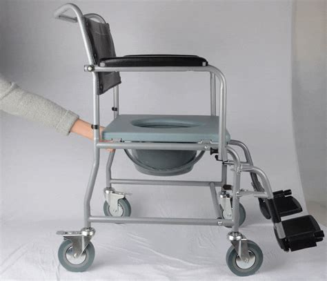 Ebay Commode by Mobile Steel Commode Chair Bedside Commode Wheerchair