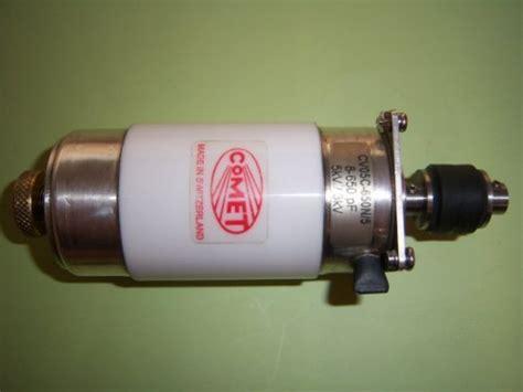 eev vacuum variable capacitor vacuum variable capacitor comet inc switzerland used
