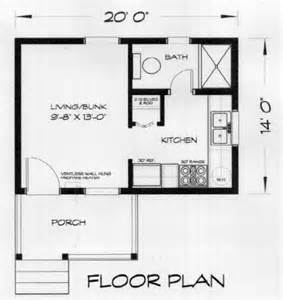 Tiny House Builders Loon 280 Sq Ft Cabin Plan