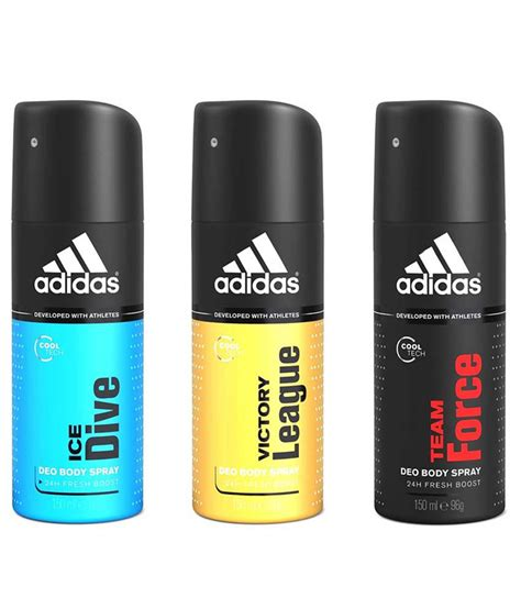 adidas victory league team force ice dive deo pack   buy    prices  india