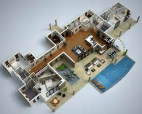 3d house floor plan gallery for gt modern home floor plans 3d