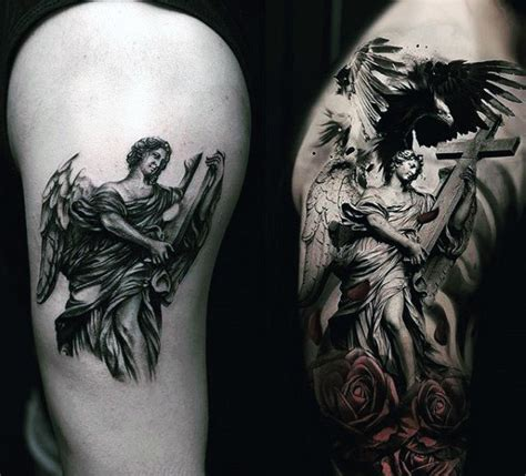 angel tattoo designs for men arms 75 remarkable tattoos for ink ideas with wings