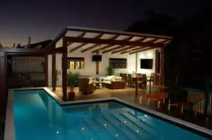 Modern gazebo amp 25m swimming pool house design amp plans by empire