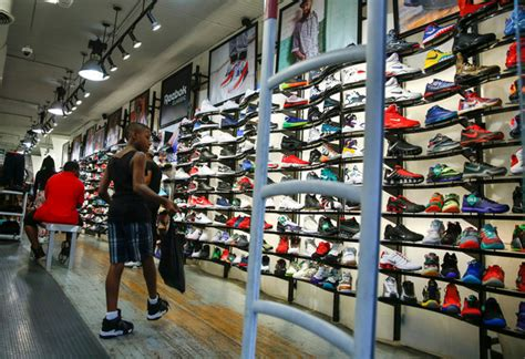shoe stores nyc foot locker in new york implement new one shoe policy