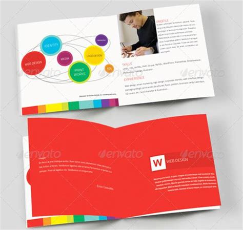 brochure template psd 25 free brochure templates