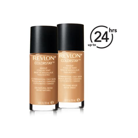Base Makeup Revlon revlon base liquida colorstay pele mista oleosa