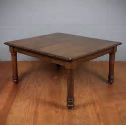8 Seater Square Dining Table Square Oak 8 Seat Dining Table C 1880 254436 Sellingantiques Co Uk