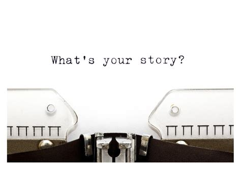 Whats Your Story by Script Creating A Story For Your Character Script