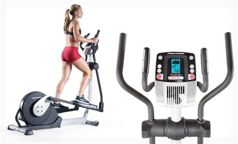 proform smart tone elliptical 62