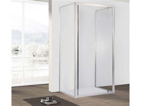 box doccia 70x90 3 lati neptum porta girevole 2 lati fissi 70x90 iperceramica