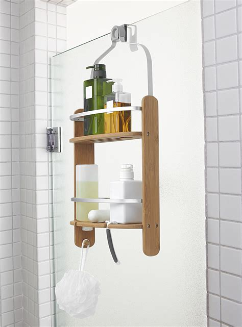 umbra bathroom accessories canada bamboo shower caddy umbra shop bath accessories online in canada simons