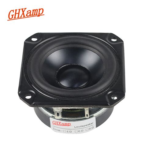 Speaker 15 Inch Mid Low ghx 3 inch 4ohm 40w range speaker rubber tweeter midrange woofer low frequency for