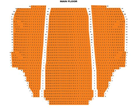 national theatre seating map murat theatre at national centre seating chart