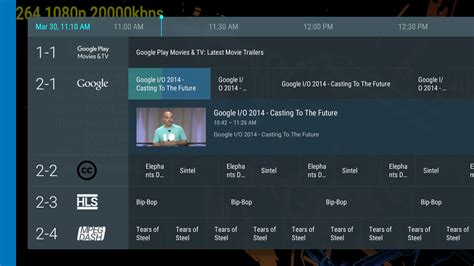 tv guide for android how to design layout like android tv image given below stack overflow