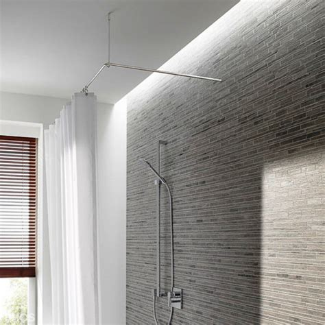 Badewanne Für Die Dusche 700 by Duschvorhangstange Aus Edelstahl F 252 R Die Bad Gestaltung