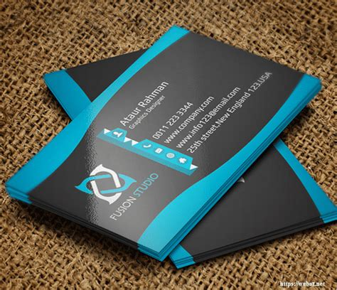 free business card template psd 50 free best business card psd templates mockups web net