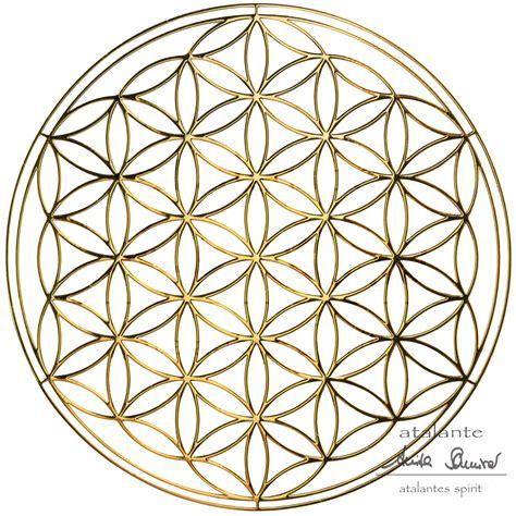 Auto Aufkleber Blume Des Lebens by Blume Des Lebens Metall Aufkleber Gold Atalantes Spirit