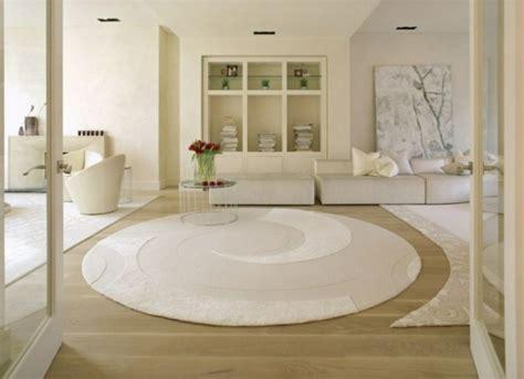 teppich wohnzimmer rund teppich rund 40 innendesigns mit rundem teppich die