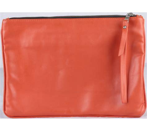 Lust Renton Orange Pouchbag zara orange fur pouch