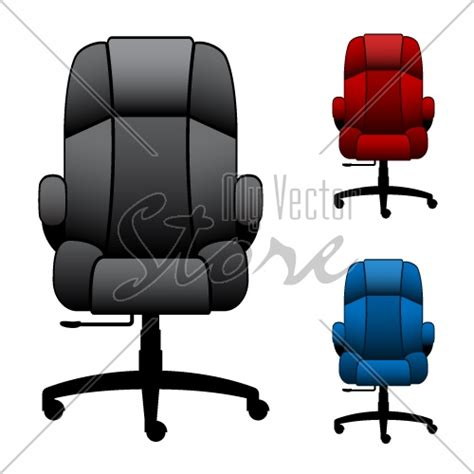 Office Chairs Vector Vector Office Chairs Illustration 2877 My Vector Store