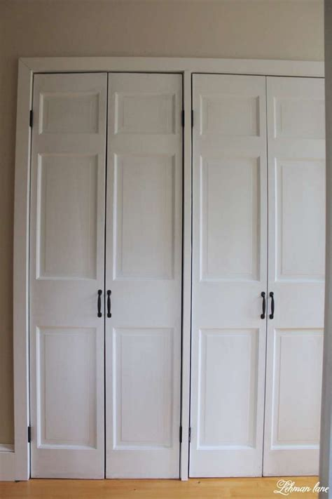 folding doors for bedrooms 25 best ideas about closet door makeover on pinterest