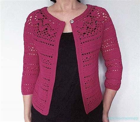 Como Hacer Un Sueter Tejido A Crochet | como hacer un sueter calado tejido a crochet cardigan