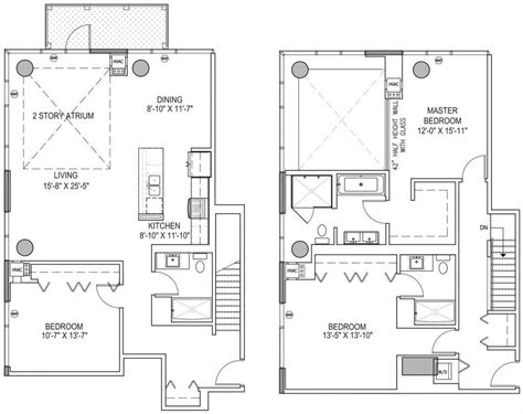chicago apartment floor plans next level luxury the best penthouse level floorplans for