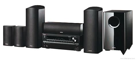 onkyo ht s7705 manual home theater system hifi engine