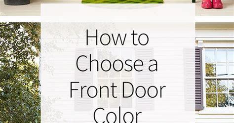 choose  front door color paint colors home