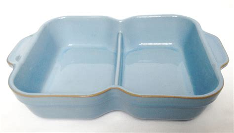 Sectioned Serving Dish by Nivag Collectables Denby Colonial Blue Sectioned