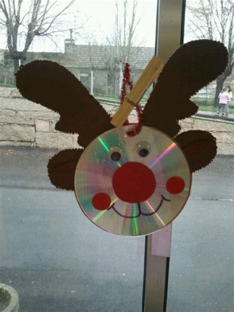 11 great ideas for christmas crafts with cd my desired home