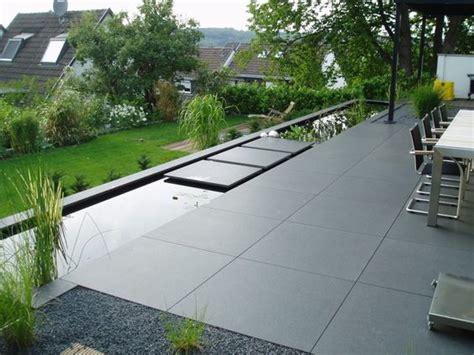 moderne terrassengestaltung mit wasser garten on pinterest