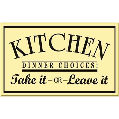 dinner sign wood signs kitchen signs