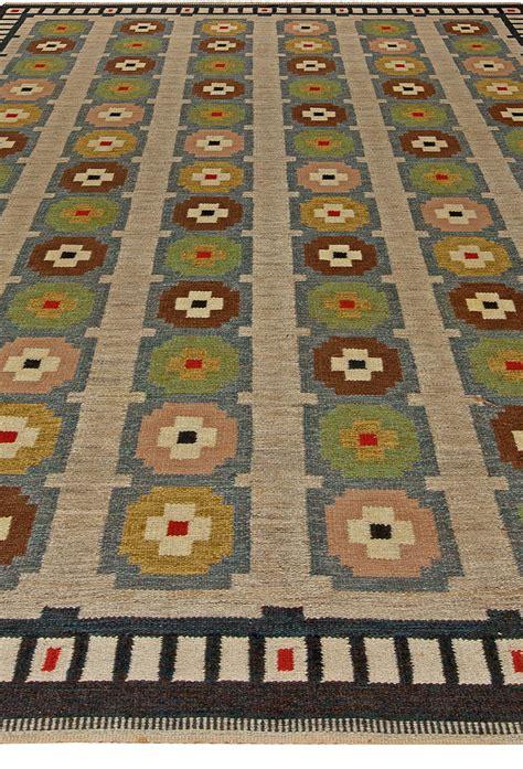 12x8 rug vintage scandinavian flat weave rug bb5687 by doris leslie blau