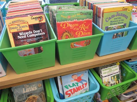 picture book bins simple solutions for an organized classroom library