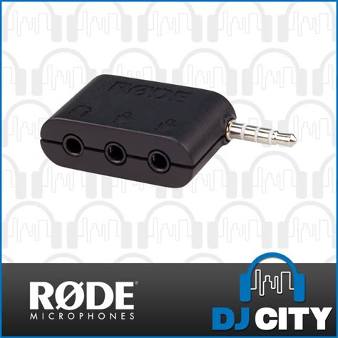 Rode Sc6 Dual Trrs Input And Headphone Output For Smartphones rode sc6 dual trrs input and headphone output for smartphones aud 29 00 picclick au