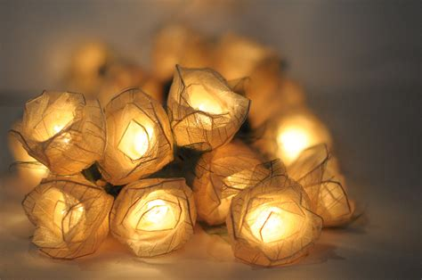 Flower Lights For Bedroom Flower Leaf String Light Patio Living Room Strand Ebay