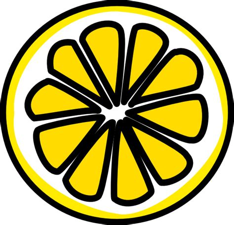 lemon clip art  clkercom vector clip art