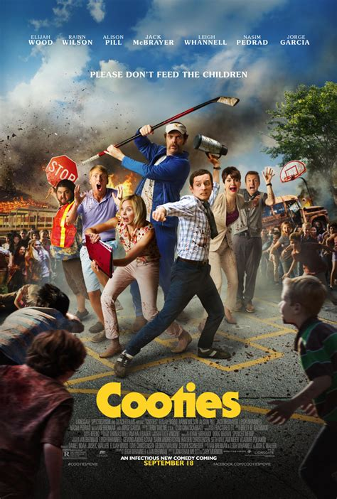 film zombie comedy 2014 zombie film cooties 2014 new poster looks awesome