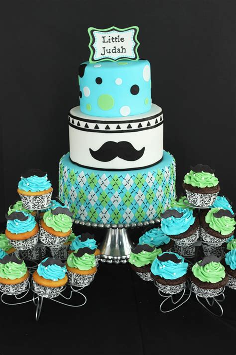 mustache cakes for baby shower mustache baby shower cake and cupcakes sweet dreams cake