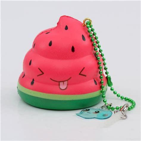 Squishy Rising Poo scented watermelon mini poo squishy by puni maru 1 squishes minis