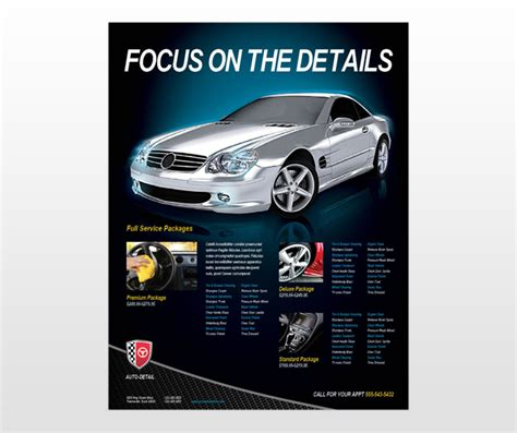 car flyer template template click on the button to get this car for