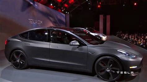 is tesla electric tesla unveiled the awaited electric car model 3