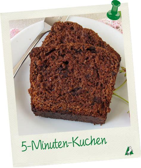 5 min kuchen 5 minuten kuchen