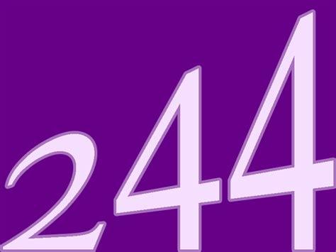 numbers number 244