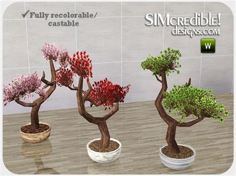 empire sims 3 3 small potted plants by lisen801 simcredible s empire plant