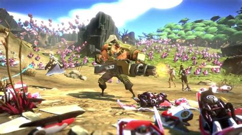 Ps4 Battleborn Only gearbox s battleborn mixes fps with moba 187 fanboy
