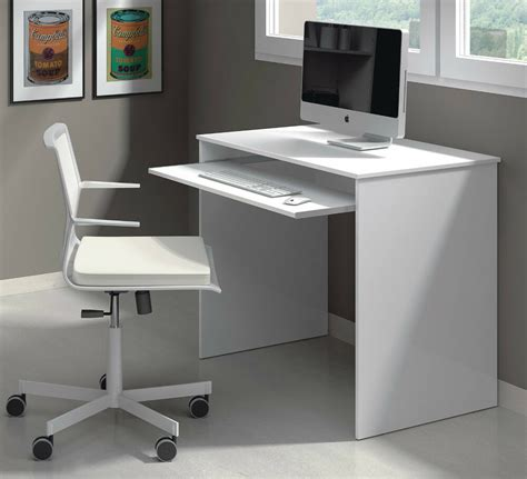 small white laptop desk milan small white gloss desk computer table laptop ebay